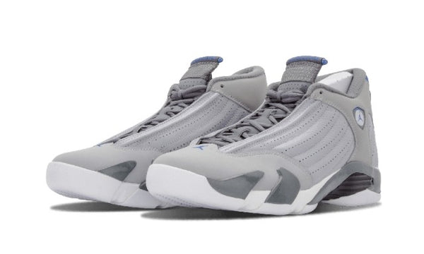 Nike Air Jordan 14 XIV Retro Wolf Grey 487471 004 Basketball Shoes mens Authentic Sports Shoes - KB ALL ABOUT SERVICEZ