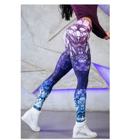 Women Yoga Pants High Elastic Fitness Sport Leggings Tights Slim Running Sportswear Sports Pants Quick Drying Training Trousers - KB ALL ABOUT SERVICEZ