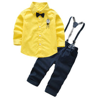 4Pcs Boys Clothes Sets Summer Children Clothing Baby Boy Sport Suit T-shirt+Jeans Costume For Kids - KB ALL ABOUT SERVICEZ