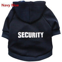 Security Cat Clothes Pet Cat Coats Jacket Hoodies For Cats Outfit Warm Pet Clothing Rabbit Animals Pet Costume - KB ALL ABOUT SERVICEZ