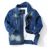 Boy Denim Jacket Children's Baby Handsome Cowboy Cotton Jacket - KB ALL ABOUT SERVICEZ