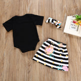 3Pcs T-shirt Romper - KB ALL ABOUT SERVICEZ