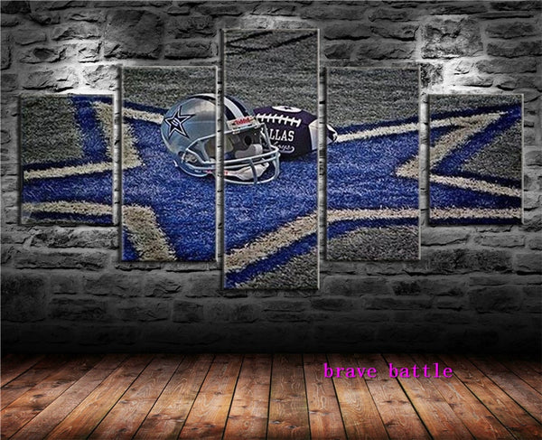 Dallas Cowboys Canvas Painting Living Room Home Decor Modern Mural Art Oil Painting - KB ALL ABOUT SERVICEZ