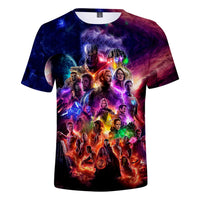 T Shirt men/women marvel Avengers Endgame 3D print t-shirts Short sleeve Harajuku style tshirt tops - KB ALL ABOUT SERVICEZ