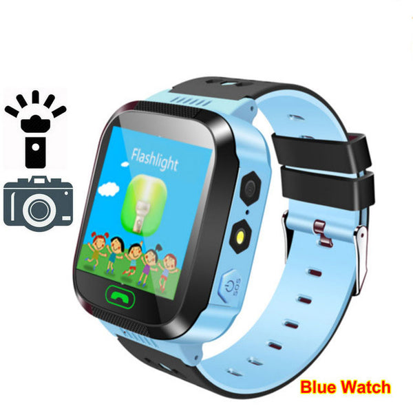 Q02 Y21S Baby Smart Watch With SOS Call Camera Touch Screen Lighting Phone Positioning Location Children Watch for Android IOS - KB ALL ABOUT SERVICEZ