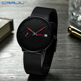 Crrju Sports Date Mens Watches Top Brand Luxury Waterproof Sport Watch - KB ALL ABOUT SERVICEZ