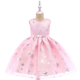 Baby Girl Silk Princess Dress for Wedding party Kids Dresses for Toddler Girl Children Fashion Christmas Clothing Baby girl dres - KB ALL ABOUT SERVICEZ