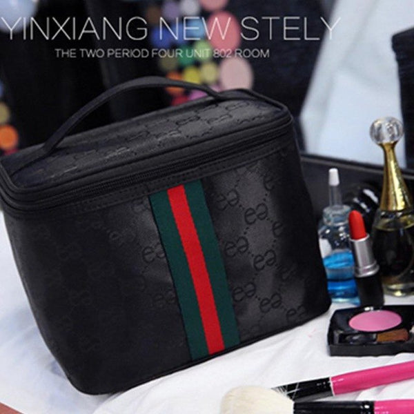 ladies portable cosmetic bag large-capacity storage bag female travel cosmetic case simple wash bag - KB ALL ABOUT SERVICEZ