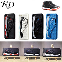 3D Basketball Shoes Air Dunk Sneaker Couple Phone Case for iphone 6 6S 7 8 Plus X 10 XS XR MAX Soft Cover - KB ALL ABOUT SERVICEZ