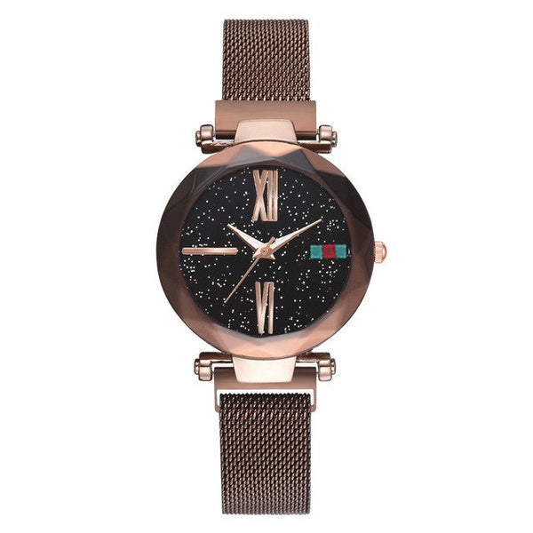 Luna Watch Magnet Watch Milan Starry Ms Watch Shaking Sound Explosion Models Spot Wholesale - KB ALL ABOUT SERVICEZ