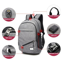 Sport Basketball Backpack Laptop School Bag For Teenager Boys Soccer Ball Pack Bag Male With Football Basketball Net - KB ALL ABOUT SERVICEZ
