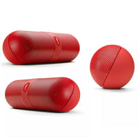 Pill Shaped Super Bass Speaker Wireless Portable Mini Speaker - KB ALL ABOUT SERVICEZ