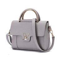 Flap V Women's Luxury Leather Clutch Bag Lady Handbags  Messenger Bags - KB ALL ABOUT SERVICEZ