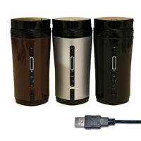 1PC Coffee Stirring Cup Automatic Stirring Cup Rechargeable Heating Insulation USB Coffee Heating Cup Drinkware - KB ALL ABOUT SERVICEZ