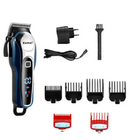 Adjustable professional hair clipper barber hair trimmer for men electric beard cutter hair cutting machine haircut cordless - KB ALL ABOUT SERVICEZ