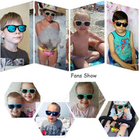 Flexible Polarized Kids Sunglasses Child Black Sun Glasses for Baby Girls Boy Sunglasses Eyeglasses 1.5-11 Years Kids Glasses - KB ALL ABOUT SERVICEZ