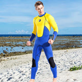 1.5mm Neoprene Men Fullbody Surfing Suit Diving Snorkeling One Piece Swimming Suit Jumpsuit Wetsuits - KB ALL ABOUT SERVICEZ