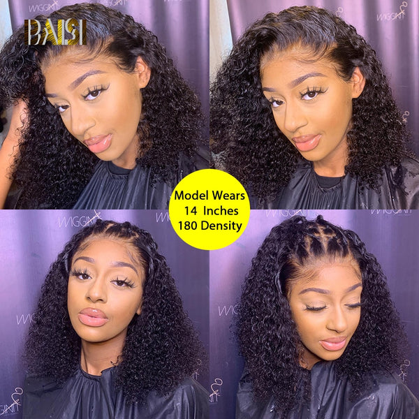 Curly Lace Front Human Hair Wigs - KB ALL ABOUT SERVICEZ