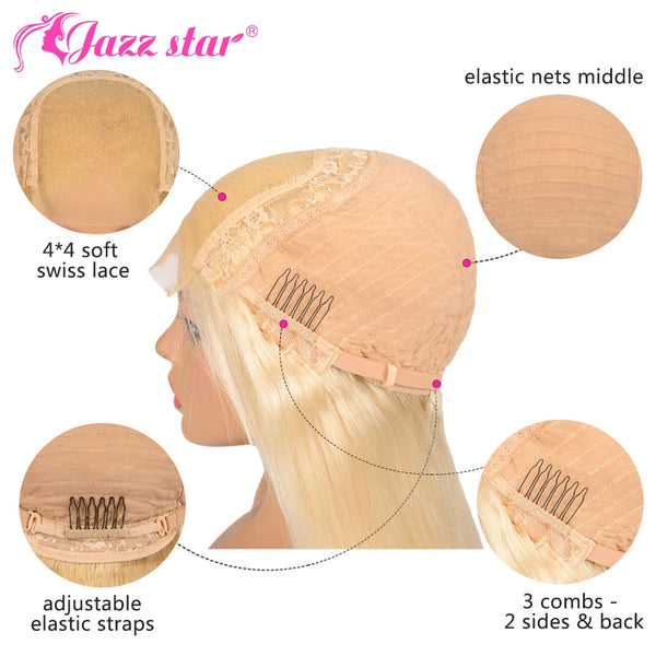 Blonde Wig Body Wave Human Hair - KB ALL ABOUT SERVICEZ