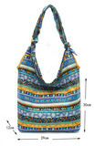Hippy Boho Style Sling Cross Body Shoulder Messenger Bag Purse Multi Color - KB ALL ABOUT SERVICEZ
