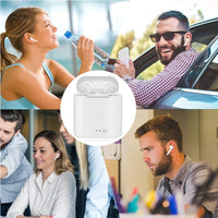 i7s TWS Mini Wireless Bluetooth Earphone Stereo Earbud Headset With Charging Box Mic For Iphone Xiaomi All Smart Phone air pods - KB ALL ABOUT SERVICEZ