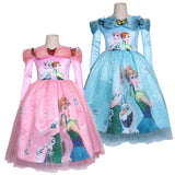 Baby Girls Dress 2018 Winter Tiny Cottons Butterfly Cute Tutu Tulle Princess Party Dress Cosplay Snow Queen Anna Elsa Costume - KB ALL ABOUT SERVICEZ