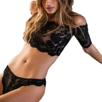 Lingerie Solid T-pants Romantic Lace Bra - KB ALL ABOUT SERVICEZ