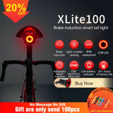 Bicycle Flashlight Bike Rear Light Auto Start/Stop Brake Sensing IPX6 Waterproof LED Charging Cycling Taillight - KB ALL ABOUT SERVICEZ