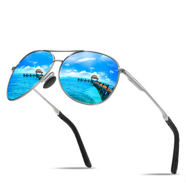 Men Polarized Sunglasses Brand Male Sun glasses Alloy Frame Outdoor Sport Driving UV400 Eyewear - KB ALL ABOUT SERVICEZ