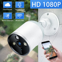 Camera Outdoor Waterproof Bullet Security Camera Wifi CCTV Camera Night Vision Cloud P2P Two Way Audio - KB ALL ABOUT SERVICEZ