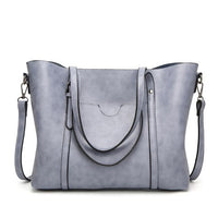 Women's Leather Handbags Lady Hand Bags With Purse Pocket Women messenger bag - KB ALL ABOUT SERVICEZ