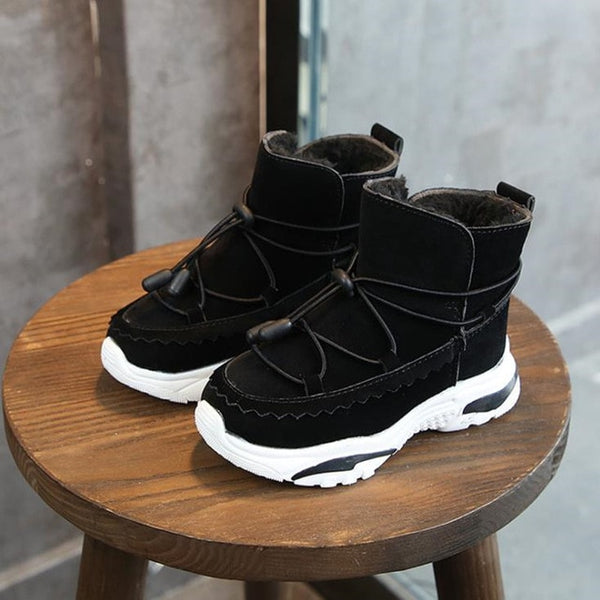 Boys Boots Winter Kids Snow Boots Sport Children Shoes For Boys Sneakers Fashion - KB ALL ABOUT SERVICEZ