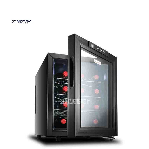 High Quality JC-33AW Electronic Red Wine Cabinet Homeheld Cold Storage Cabinet Wine Cooler 220V 50W 33L 12-18 Degrees Hot Sale - KB ALL ABOUT SERVICEZ