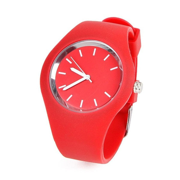 Sport Ultra-Thin Watch Women Band Analog Jelly Silicone Soft Quartz - KB ALL ABOUT SERVICEZ