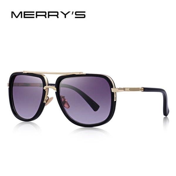 Men Sunglasses Classic Women Brand Designer Metal Square Sun glasses - KB ALL ABOUT SERVICEZ