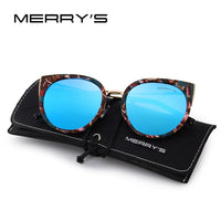 MERRYS Women Classic Brand Designer Cat Eye Polarized Sunglasses Fashion Sun Glasses S6018 - KB ALL ABOUT SERVICEZ