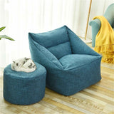 Waterproof Beanbag Chair Lazy Sofa Indoor Seat Chair Cover Lazybag Puff Sofas Large Bean Bag Cover Armchair Washable Cozy Game - KB ALL ABOUT SERVICEZ