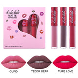 Lips Makeup Liquid Matte Lipstick Set Waterproof Nude Easy to Wear Lipgloss Smooth Velvet Lip Gloss Cosmetics - KB ALL ABOUT SERVICEZ