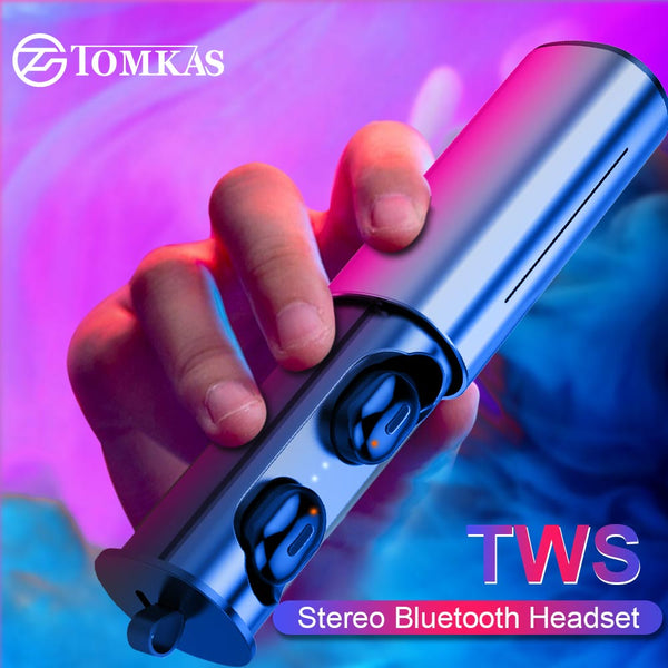 Mini Sport Wireless Earphone True TWS Earbuds Wireless Bluetooth 5.0 Headphones Headset For Android IOS Phone With Charging Box - KB ALL ABOUT SERVICEZ