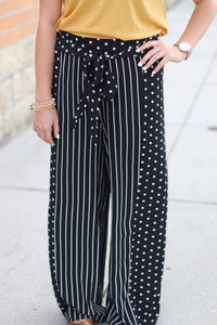 Stripe Polka Dot Pants