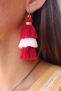 Game Day Tassel Earrings - Breazy's Boutique