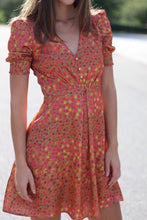 Load image into Gallery viewer, Printed Sundress With Button Detail