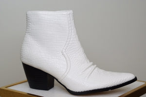 DEVON SNAKESKIN BOOTIES - Breazy's Boutique