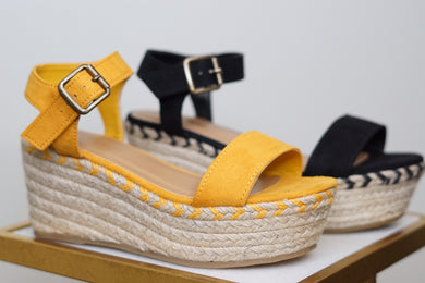 ESPADRILLE PLATFORM - Breazy's Boutique