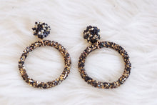 Load image into Gallery viewer, Glitter Hoops - Breazy's Boutique