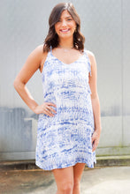Load image into Gallery viewer, Tie Dye Tie Tank Dress