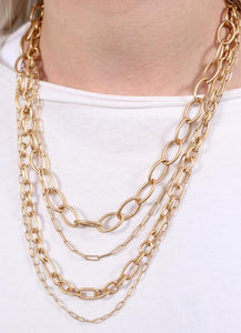 Layer Link Necklace
