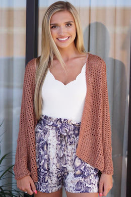 KNIT/CROCHET CARDIGAN - Breazy's Boutique