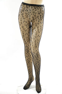 Leopard Pantyhose - Breazy's Boutique