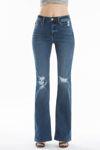 High Rise Bootcut Jeans - Breazy's Boutique